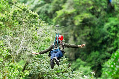 Krabi Fun Park丛林飞跃
