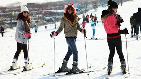 茶山滑雪场