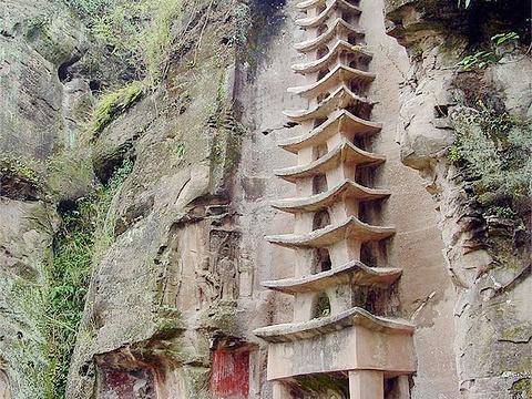 圆觉洞摩崖造像风景区旅游景点图片