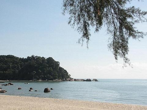 直落尖不辣海滩旅游景点图片