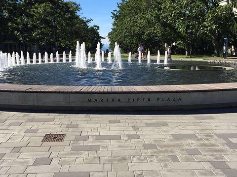 UBC喷泉旅游景点图片