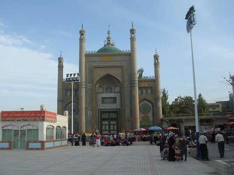 皮山大清真寺旅游景点图片