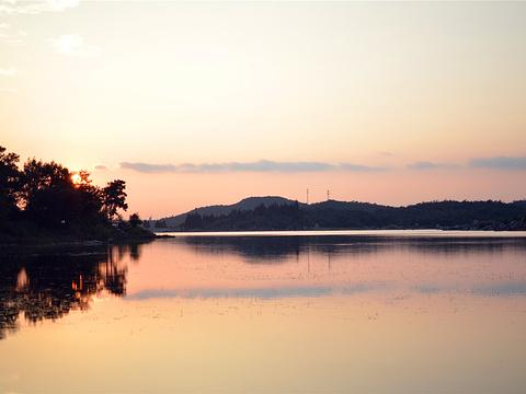 长湖旅游景点图片