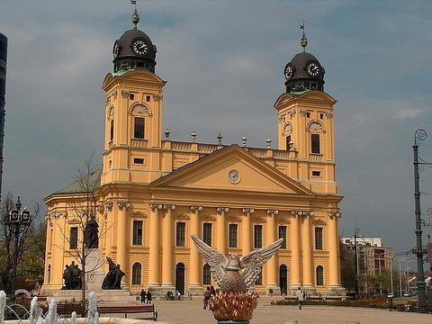 德布勒森大教堂旅游景点图片