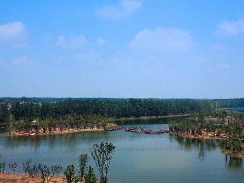 五里湖生态湿地公园旅游景点图片
