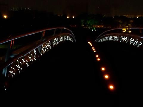 花桥国际商务中心中央公园旅游景点图片