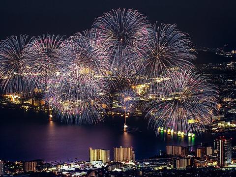 琵琶湖花火大会旅游景点图片
