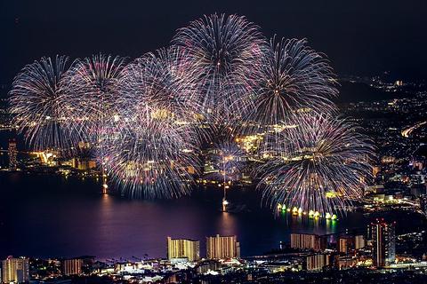 琵琶湖花火大会的图片