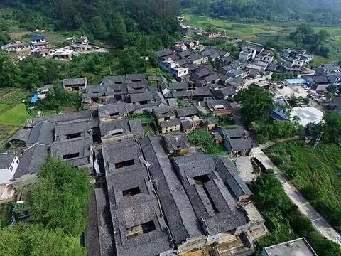 长冈岭古民居旅游景点图片