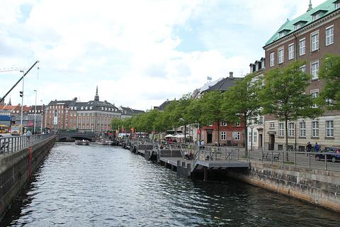 哥本哈根运河游船