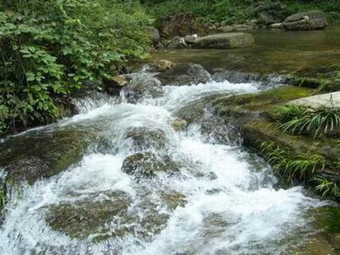 冷水河自然保护区旅游景点图片