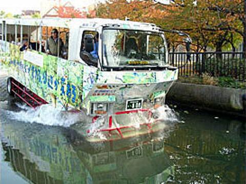 Duck Tour水陆观光游