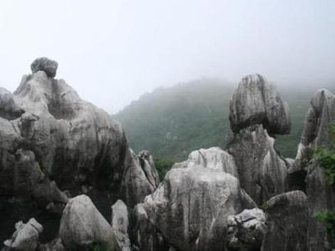 怪石林旅游景点图片