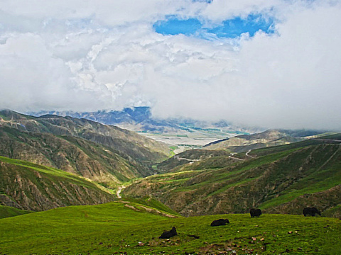 岗巴拉山口旅游景点图片