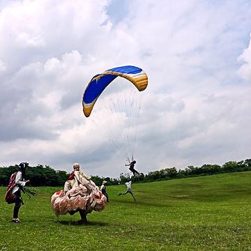 上海奉贤滑翔伞基地
