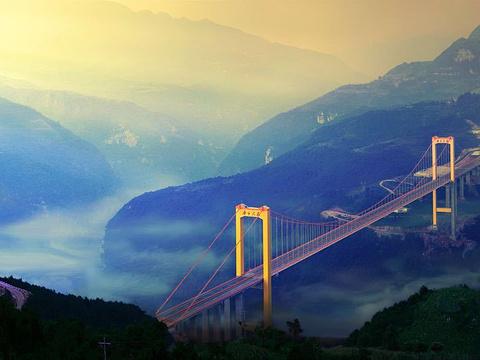 普立特大桥旅游景点图片