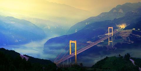 普立特大桥的图片