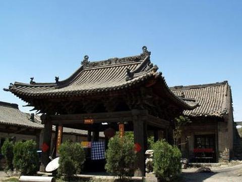 晋祠庙旅游景点图片
