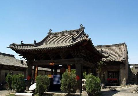 晋祠庙的图片