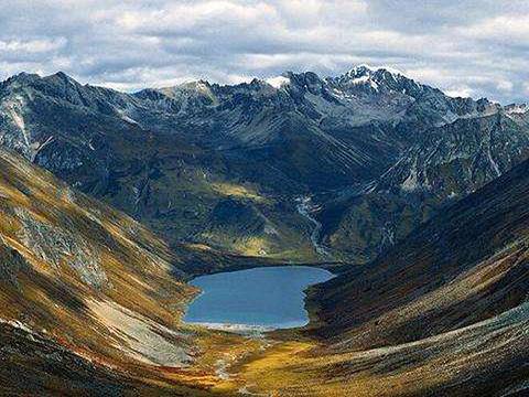 拉姆拉措旅游景点图片