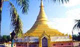 蓝毗尼缅甸金佛寺