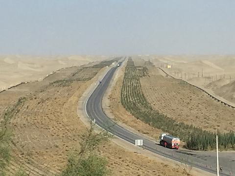 沙漠观景台旅游景点图片