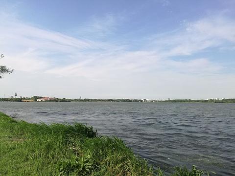 巴城湖公园旅游景点图片