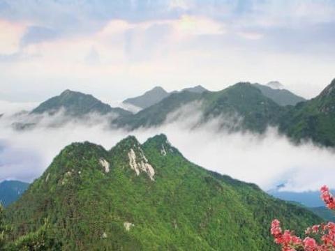湖北三角山旅游度假区旅游景点图片