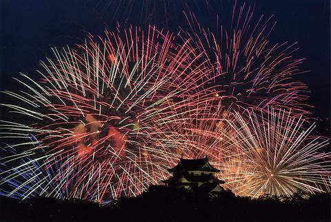 彦根·北琵琶湖花火大会的图片