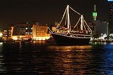 迪拜河游船夜游