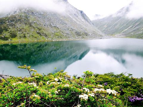仁措湖旅游景点图片