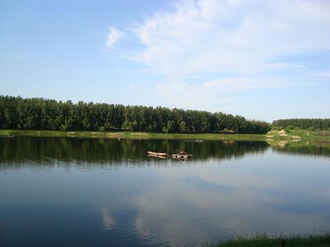 潮白河的图片