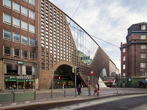 赫尔辛基大学主图书馆旅游景点图片