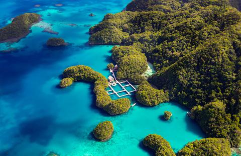 科罗尔岛旅游景点图片