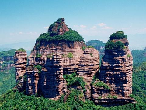 资源丹霞国家地质公园旅游景点图片