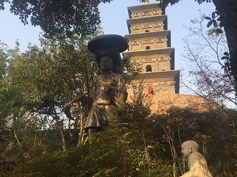 九华山三藏塔旅游景点图片
