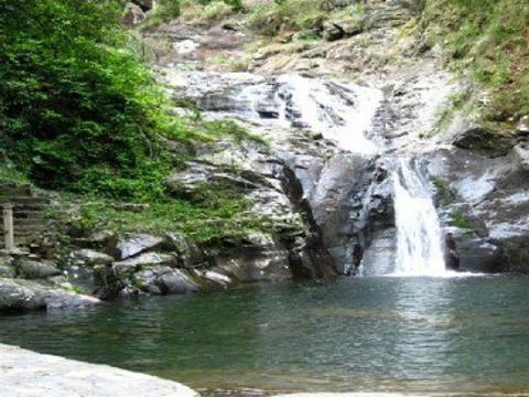 千家峒大泊水瀑布旅游景点图片
