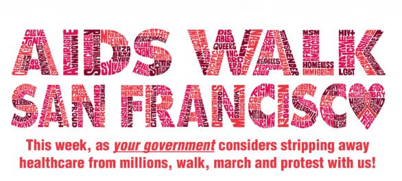 艾滋病关怀行动日(Aids Walk)