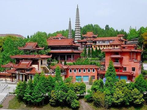 达县玉佛寺旅游景点图片