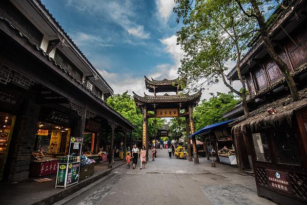 黄龙溪古镇旅游景点图片