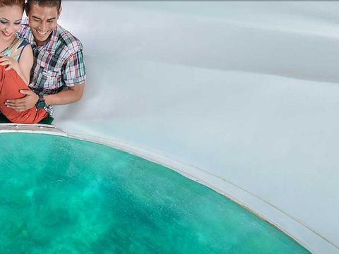 班度士岛玻璃船游览旅游景点图片