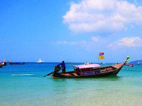 甲米天堂岛旅游景点图片