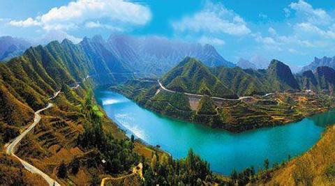 锦山青龙湖水世界