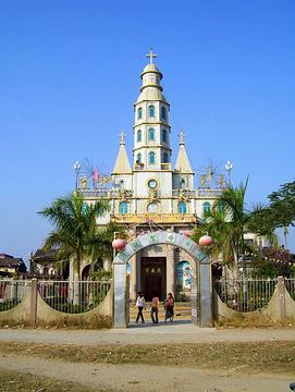 百岭天主教堂的图片