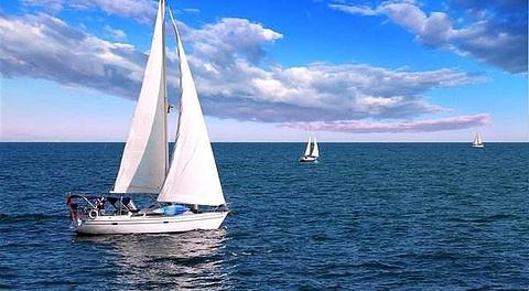 厦门帆船出海看金门