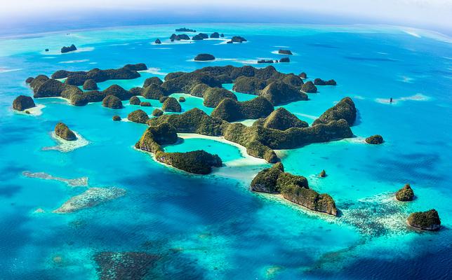 洛克群岛旅游景点图片