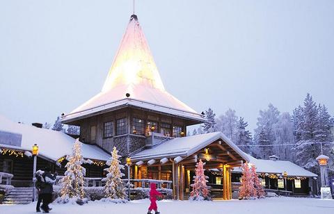 圣诞老人村的图片
