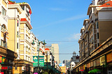 东方巴黎商业步行街