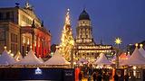 御林广场上的圣诞魔法市场