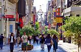 Ermou Street购物街
